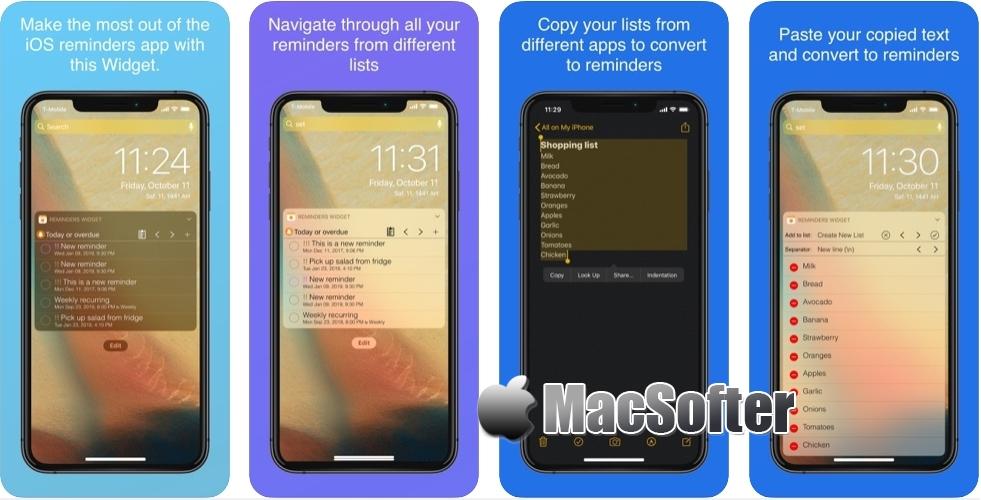 [iPhone/iPad限免] Reminders Widget : 通知中心提醒工具