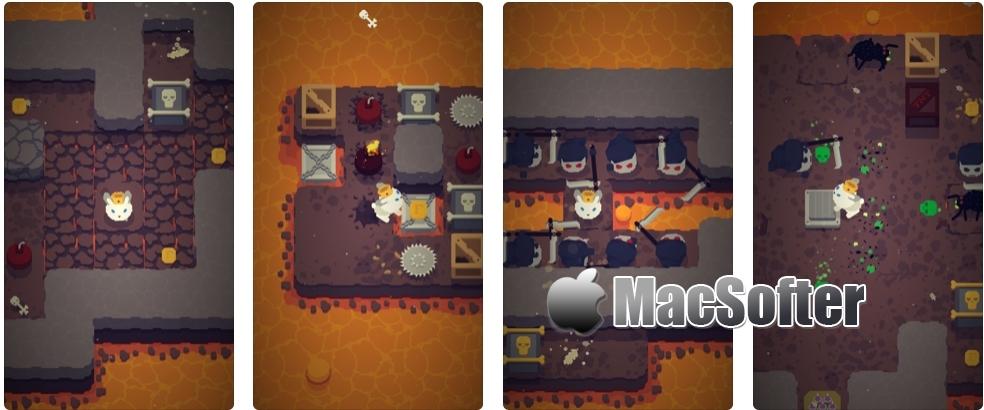 [iPhone/iPad限免] Furdemption : 好玩的闯关游戏