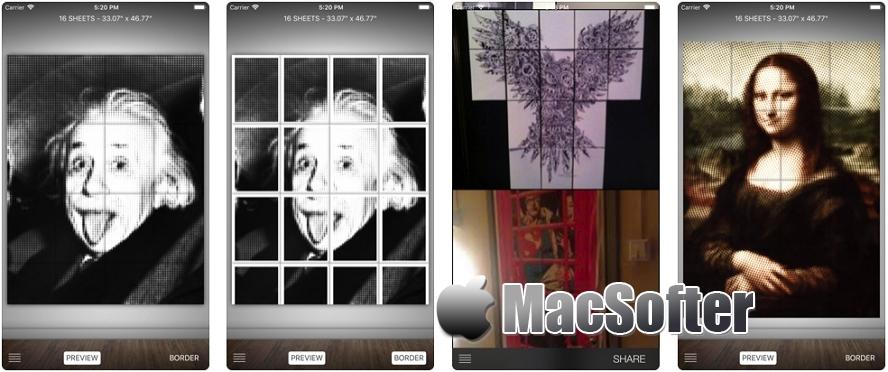 [iPhone/iPad限免] Raster :纹理创意风格海报制作工具