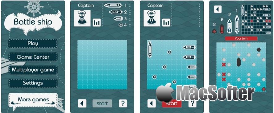 [iPhone/iPad限免] Battleship Classic Board Game : 比拼运气的战舰棋盘游戏