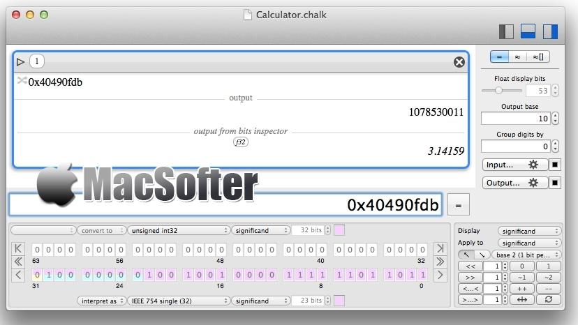 [Mac] Chalk :强大的计算器软件