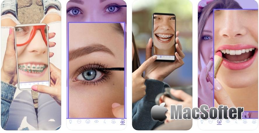 [iPhone限免] Tiny Mirror :将手机变身为化妆镜的软件