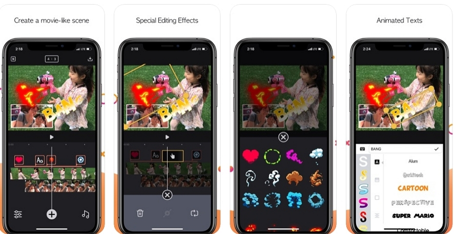 [iPhone/iPad限免] Twinkling :视频特效及视频剪辑工具