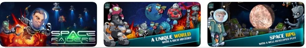 [iPhone/iPad限免] Space Raiders RPG : 太空攻略RPG游戏