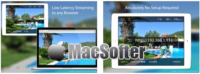 [iPhone/iPad限免] Instant Webcam : 把iPhone、iPad用作网络摄像头