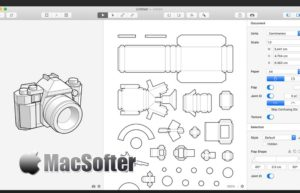 [Mac] Unfolder : 3D折纸设计制作工具