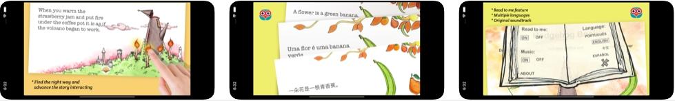 [iPhone/iPad限免] 刺猬之书 : 互动式儿童故事软件