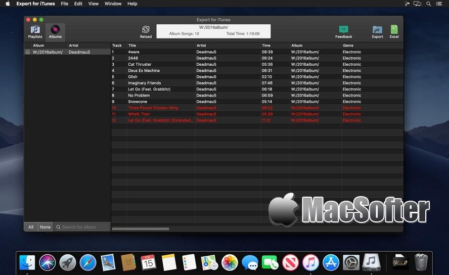 [Mac] Export for iTunes : 方便好用的iTunes音乐导出工具