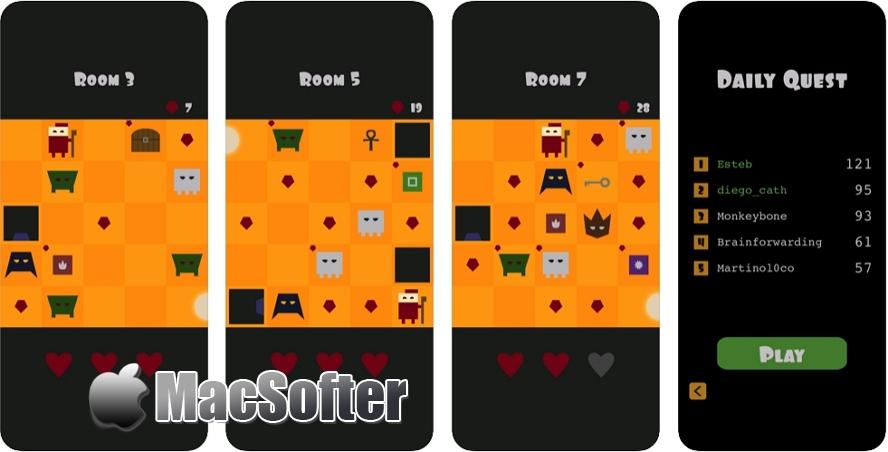 [iPhone/iPad限免] Amber Halls: 像素画风的策略游戏