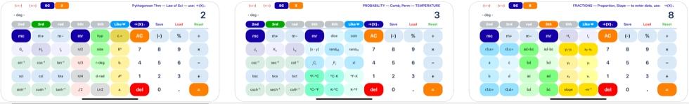 [iPhone/iPad限免] SciPro Math : 多功能科学计算器软件