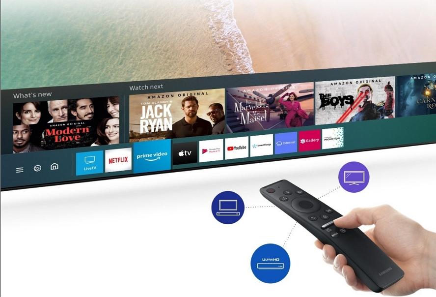 Apple Music终于可以在 Samsung Smart TV上用了