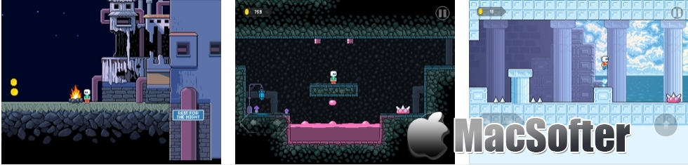 [iPhone/iPad限免] Spring Forever(永恒的春天) : 复古像素画风街机游戏