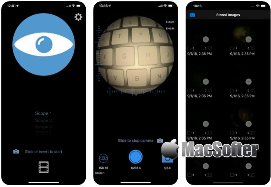 [iPhone限免] e-i Pro :完整的iPhone内窥镜成像系统