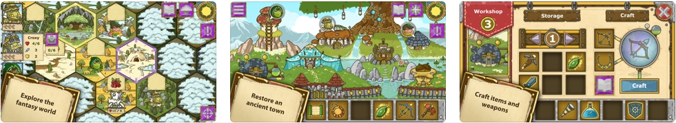 [iPhone/iPad限免] Griblers : 回合制RPG游戏