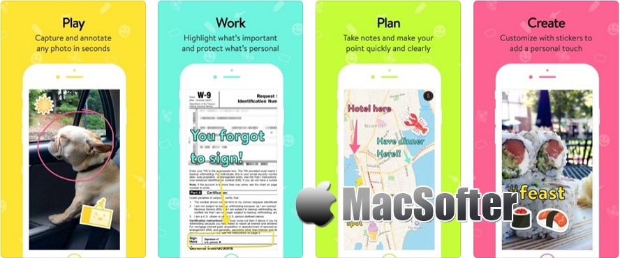 [iPhone/iPad限免] Annotate :图片照片标注软件