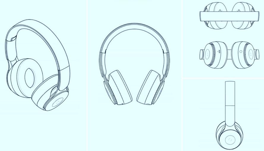 香港知识产权署披露Apple 头戴式耳机外观设计