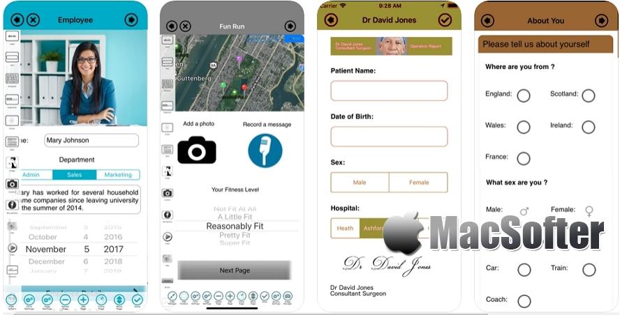 [iPhone/iPad限免] Form Maker :专业的表单设计制作工具