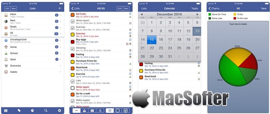 [iPhone/iPad限免] Primo Do :好用的待办事项清单软件
