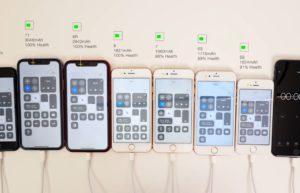 iPhone SE与多代iPhone电池续航大比拼:完胜iPhone 8