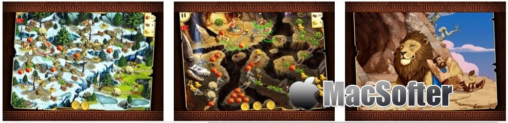 [iPhone/iPad限免] 12 Labours of Hercules II: The Cretan Bull - 策略类时间管理模拟冒险游戏