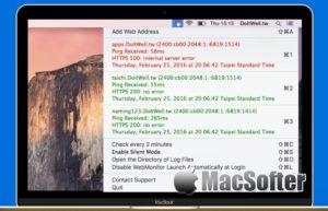 [Mac] Simple WebMonitor : 网站在线状态监测工具