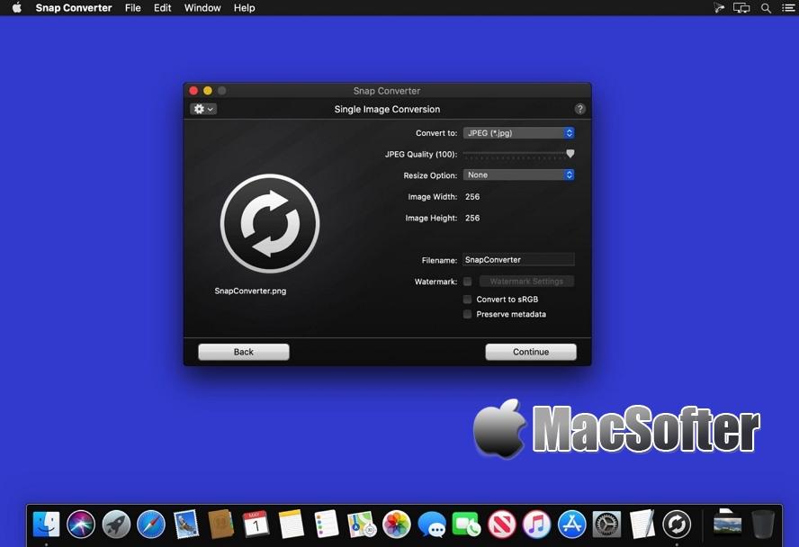 [Mac] Snap Converter : 强大的图片格式转换器