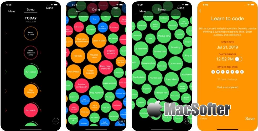 [iPhone/iPad限免] Simple Habit Tracker :健康习惯跟踪软件
