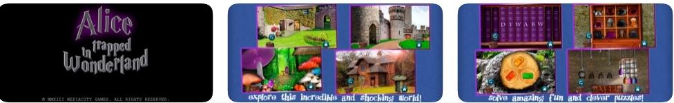 [iPhone/iPad限免] Alice Trapped in Wonderland : 爱丽丝受困仙境主题的解谜游戏