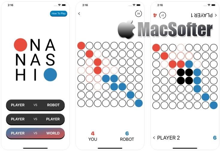 [iPhone/iPad限免] Nanashi : 棋盘策略游戏