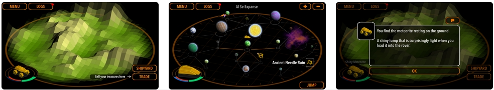 [iPhone/iPad限免] Nebula Sky : 星云天空太空探险游戏