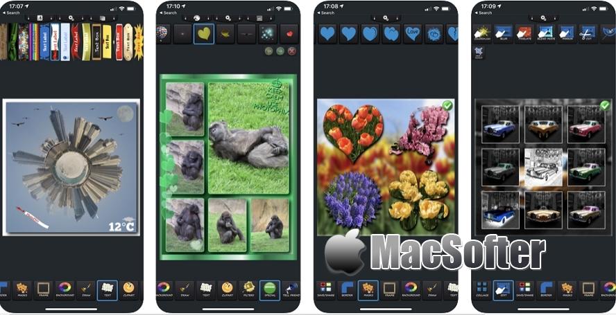 [iPhone/iPad限免] PhotoPhix : 照片拼图及特效软件