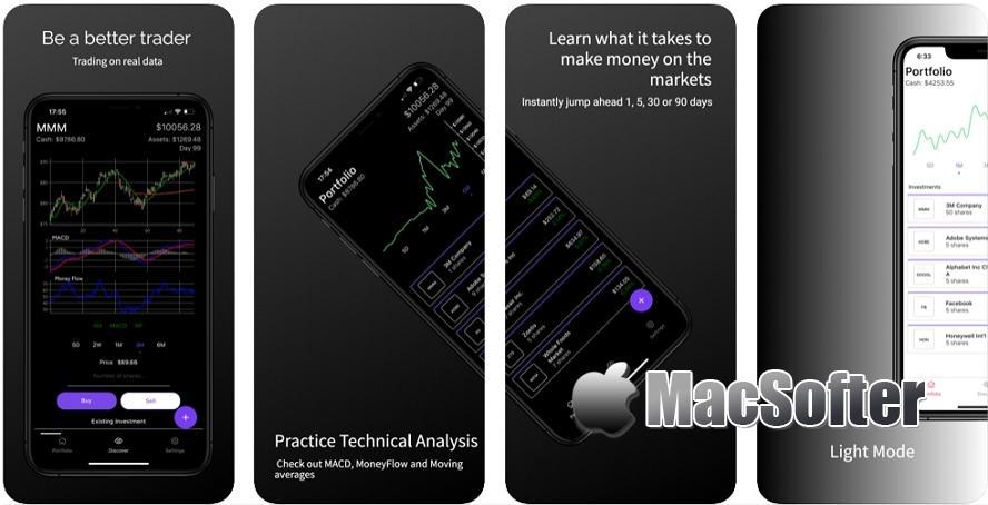 [iPhone/iPad限免] Stock Market Simulator Game : 股市技术分析训练工具