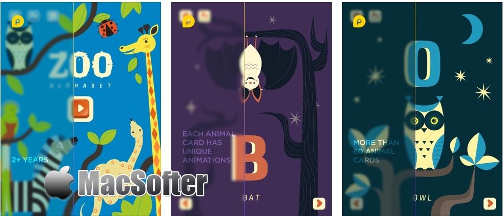[iPad限免] Mini-U: ZOO Alphabet - 儿童英文字母学习软件