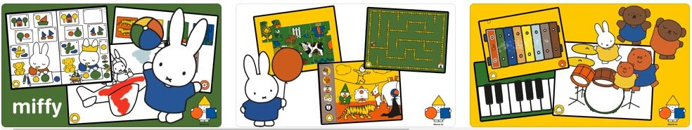 [iPhone/iPad限免] Miffy Games - Premium :米菲教育儿童益智游戏