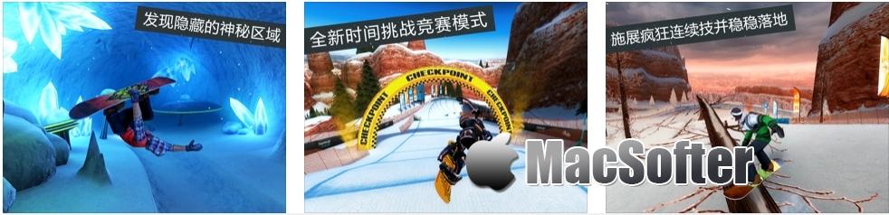 [iPhone/iPad限免] Snowboard Party: World Tour - 极限滑雪游戏
