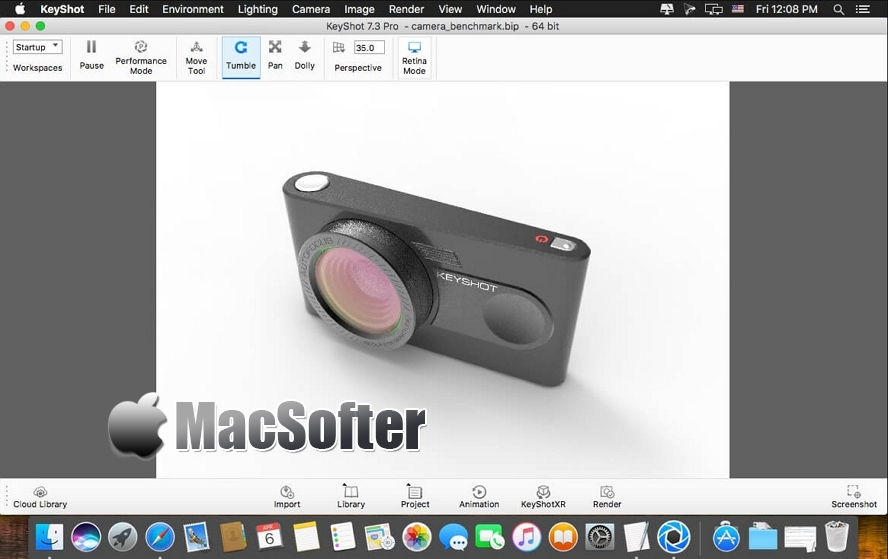 [Mac] KeyShot Pro : 强大的3D渲染和动画制作软件