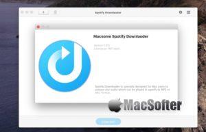 [Mac] Macsome Spotify Downloader :Spotify音乐下载及格式转换器