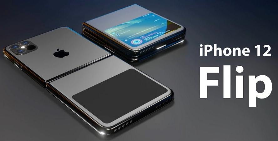 iPhone 12 Flip :可折叠式玻璃屏幕概念影片+光学雷达
