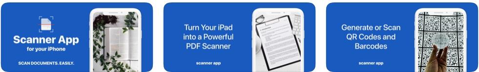 [iPhone/iPad限免] PDF Scanner App : 文件扫描工具