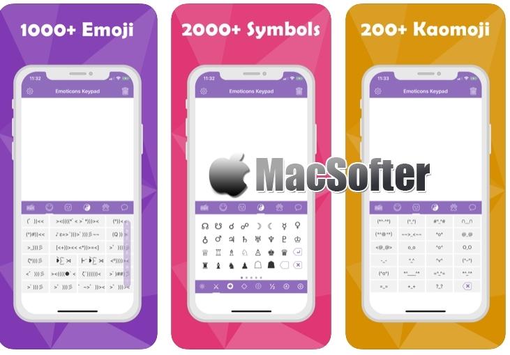 [iPhone限免] 表情符号键盘:特殊字符、颜文字输入法
