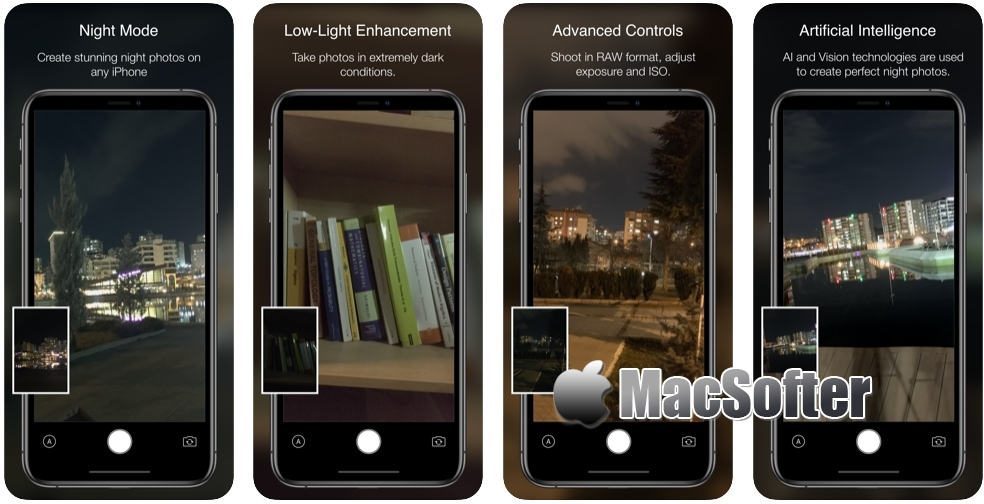 [iPhone限免] Nightcam :夜景拍摄相机软件
