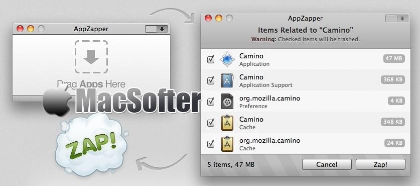 [Mac] AppZapper : 方便好用的软件应用卸载工具