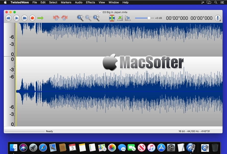 [Mac] TwistedWave : 强大的音频编辑处理工具