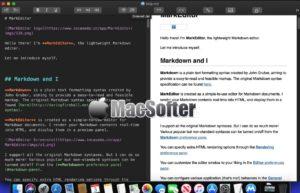 [Mac] MarkEditor : 轻量级的Markdown编辑器