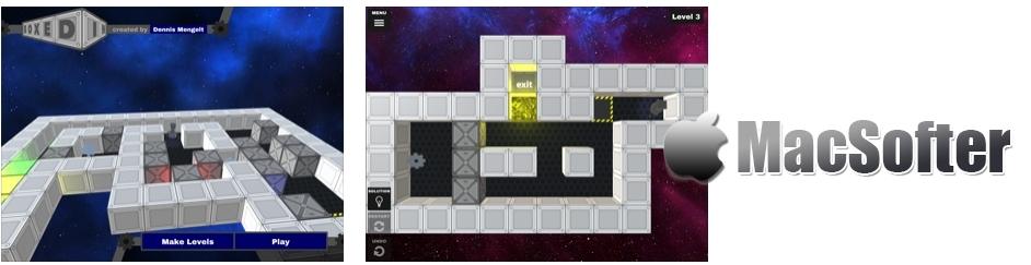 [iPhone/iPad限免] Boxed In : 立体仓库逻辑益智游戏