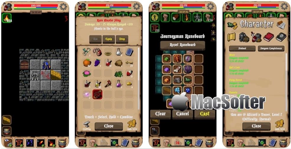 [iPhone/iPad限免] Lootbox RPG : 单机地牢冒险游戏