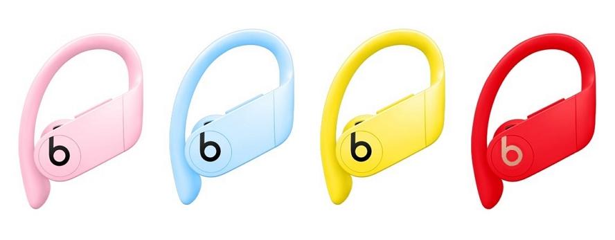 传言指Apple计划将推出四款新色的Powerbeats Pro