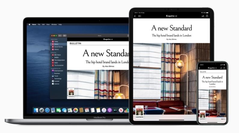 苹果计划推出用听着看新闻!挽救Apple News+ 颓势