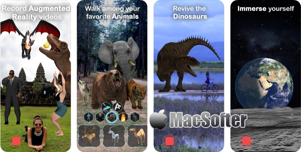 [iPhone/iPad限免] ARvid Augmented Reality : 3D虚拟立体动画拍摄软件