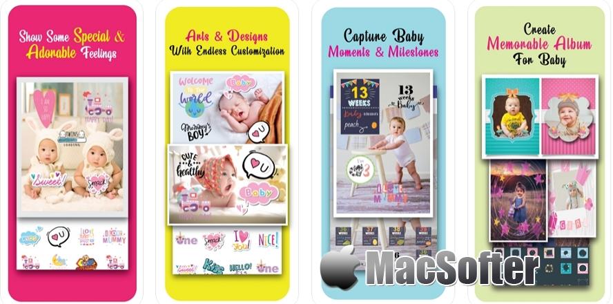 [iPhone限免]Baby Pics-Photo & Video Editor : 宝宝照片视频编辑器